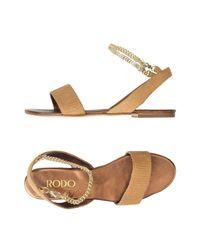 Rodo Natural Sandals