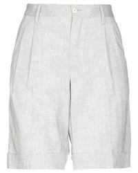 PT01 Gray Bermuda Shorts