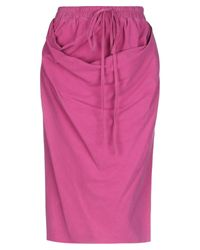 Gonna longuette di Vivienne Westwood in Pink