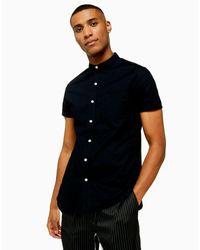Topman Black Shirt for men