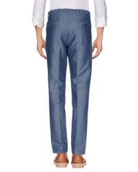 Club Monaco Blue Casual Trouser for men