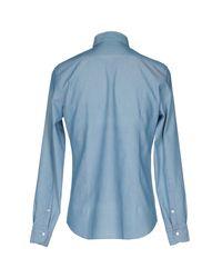 Bagutta Blue Shirt for men