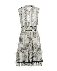 Ainea Gray Short Dress