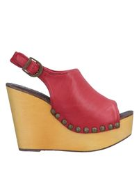 Jeffrey Campbell Red Sandale