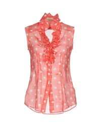 Le Sarte Pettegole - Pink Shirt - Lyst