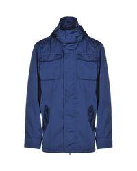 Tru Trussardi Blue Jacket for men