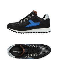 DSquared² Low Sneakers & Tennisschuhe in Blue für Herren