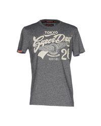 Superdry Gray T-shirt for men