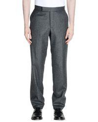 Pantalon Thom Browne pour homme en coloris Gray