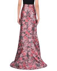 Erdem Pink Long Skirt