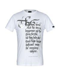 T-shirt di Rrd in White da Uomo