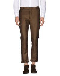 Pantalone di Marni in Brown da Uomo