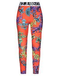 Versace Jeans Orange Leggings