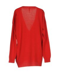 Manila Grace Red Sweater