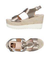 Kanna Gray Sandals