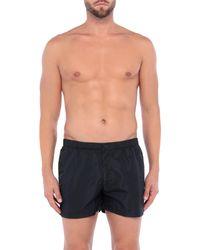 Sundek Black Swim Trunks for men