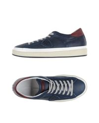 Philippe Model Blue Low-tops & Sneakers for men