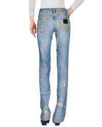 Dolce & Gabbana Blue Denim Pants