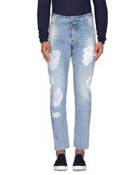 DSquared² Blue Denim Pants for men