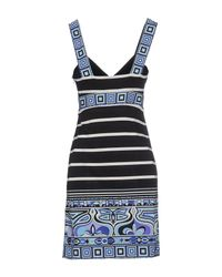 Emilio Pucci - Black Short Dress - Lyst