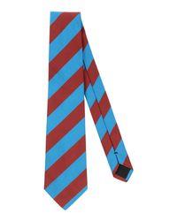 Mp Massimo Piombo Blue Tie for men