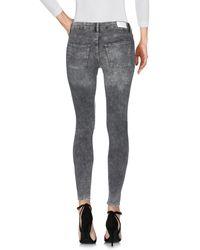 Cheap Monday Gray Denim Trousers