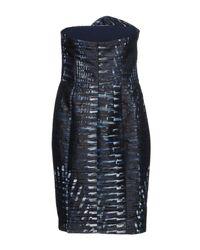 Armani Blue Kurzes Kleid