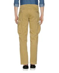Franklin & Marshall - Green Casual Trouser for Men - Lyst