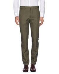Marni Green Casual Pants for men