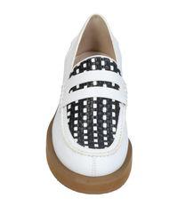 Jil Sander - White Loafers - Lyst