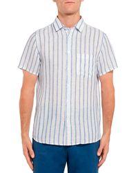 Camicia di Frescobol Carioca in Blue da Uomo