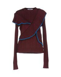 MSGM Purple Sweaters