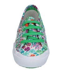 Superga Green Low-tops & Sneakers
