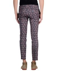 Paul Smith Purple Casual Trouser for men