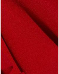 Slip mare di Norma Kamali in Red