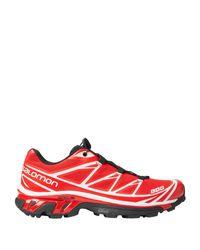 Yves Salomon Low Sneakers & Tennisschuhe in Red für Herren