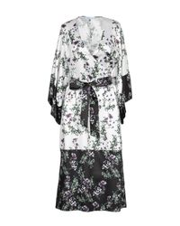Vestido por la rodilla Blumarine de color White