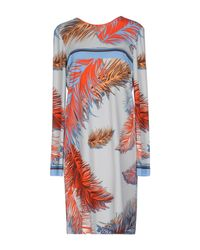 Emilio Pucci Blue Short Dress