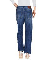 Dondup Blue Denim Trousers