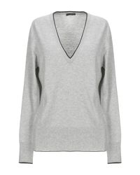 Pullover di Fred Perry in Gray