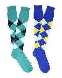 Burlington Blue Socks for men