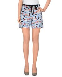 Jucca - Blue Shorts - Lyst