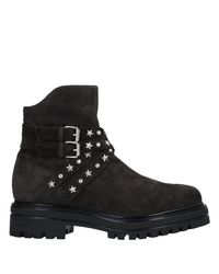 Janet & Janet Black Ankle Boots