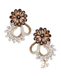 DSquared² - Brown Earrings - Lyst