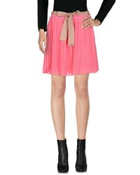 Scee By Twin-set Pink Mini Skirt