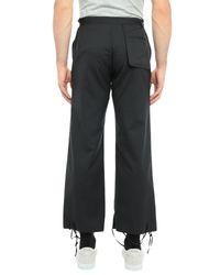 Pantalone di Y's Yohji Yamamoto in Black da Uomo