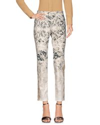Blumarine White Casual Trouser