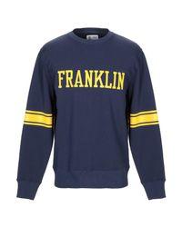 Felpa di Franklin & Marshall in Blue da Uomo