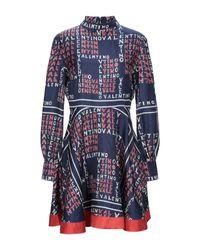 Valentino Blue Short Dress