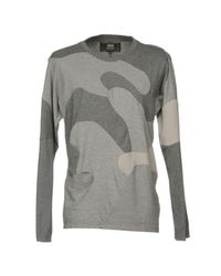ANREALAGE Gray T-shirt for men